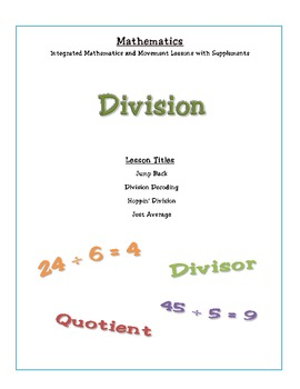Math and Movement: Four Integrated Lessons on Division
