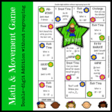 Math Games double digit addition without regrouping