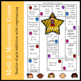 Math Games double digit addition with regrouping | distanc