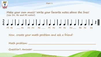 Math and Music, Lesson 21: Strawberry Ice Cream