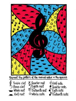 Math and Music Zen Art