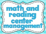 Math and Reading Center Management
