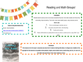 Math and Reading Station Group Names