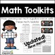 Math and Reading Toolkit Labels Bundle: Tool Kit Labels for Organization!