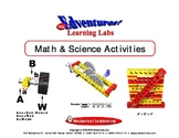 Math and Science Activity Book - Lesson 2 - Brick Units/Diagonal Bracing