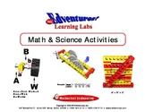 Math and Science Activity Book - Lesson 2 - Brick Units/Di