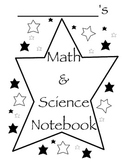 Math and Science Binder Cover