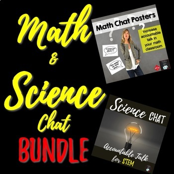 Math and Science Chat  BUNDLE