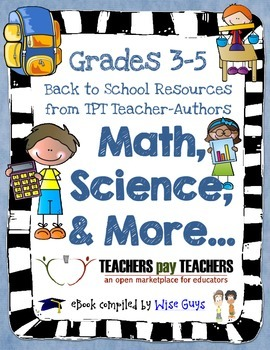 Math and Science: FREE Back to School eBook for Grades 3-5