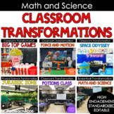 Math and Science Lab Classroom Transformations
