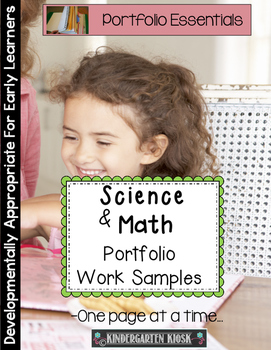 Math and Science Portfolio Work Samples