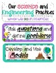 Math and Science Practices Pineapple Theme