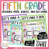 Math Review Game and Science Review Game Shows {Let's Make a Deal} *Bundled*