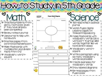 Math and Science Study Guide