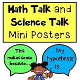 Math and Science Talk Mini Posters