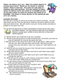 Math and Social Studies Project-Plan a Vacation