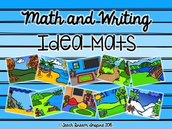 Math and Writing Idea Mats