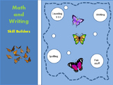 Butterfly Math and Writing Skill Builders