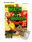 Math and the Grocery! Set up a food shopping trip simulation