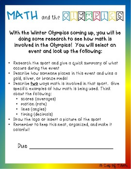 Math and the Olympics