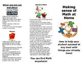 Math at Home Flyer