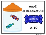Math at the Candy Shop- Counting Around the Room