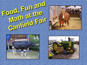 Math at the Canfield Fair (Problem Solving with Real Life Examples)