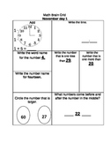 Math brain Grids November