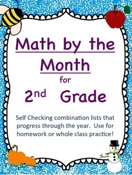 Math by the Month 2nd Grade