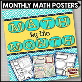 Math by the Month - Monthly Math Posters