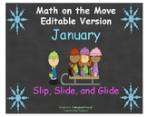 """Math can Move _ Editable Version for January called """"Slip,"""
