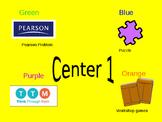 Math center PPT