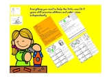 Math centers: Activities for developing addition fluency w
