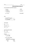Math chapter 2 lesson 1-9 Test Prep