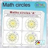 Math circles (6 Numeracy sheets)