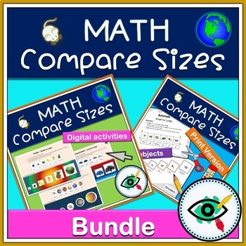 Math compare sizes bundle