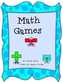 Math cooperative learning games