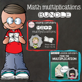 Cootie Catchers / Fortune Tellers - Math Multiplications BUNDLE