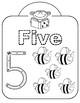 Math counting printables-Fingerprint painting fun!