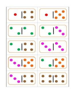 Math dominos