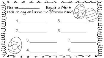 Math eggs