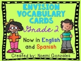 Math enVision Vocab Cards Grade 2