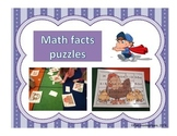 Math facts puzzles