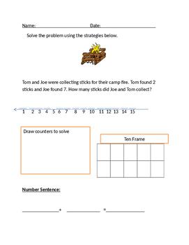 Math first grade practice