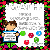 Math for First Grade! Unit 1: Numbers to 50
