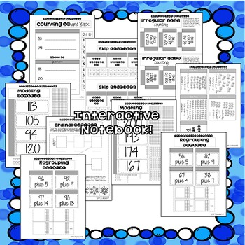 Math for First Grade! Unit 7: Numbers to 120 and Beyond