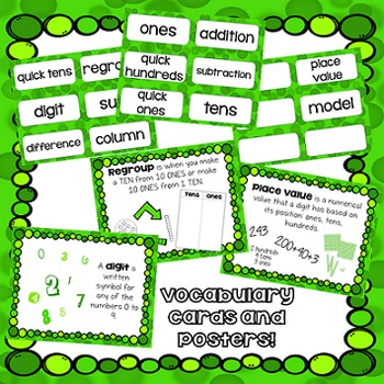 Math for First Grade! Unit 9: Operations within 100
