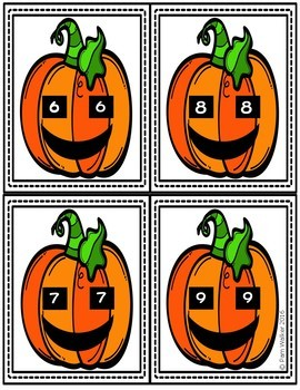 Math for Halloween--Centers for 1st or 2nd Grade