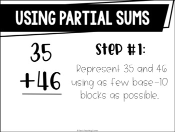 Math for Little Learners: Partial Sums