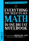 Math for Middle School : The Complete Middle School Study Guide